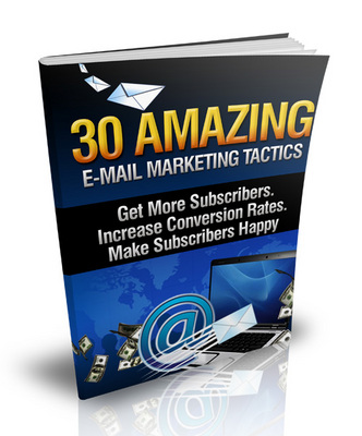 Pay for 30 Amazing Email Marketing Tactics Viral Report with Transferable MRR