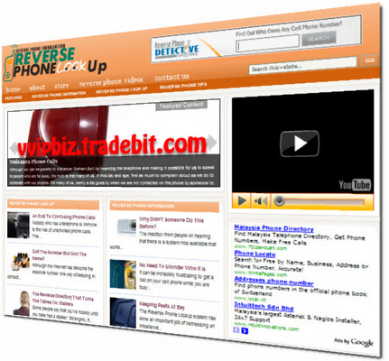 Pay for Reverse Phone Lookup Turnkey Wordpress Blogs (3 Income Streams) + Review Sites