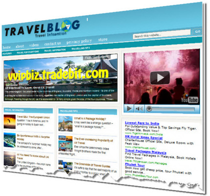 Pay for Travel Turnkey Wordpress Blogs (3 Income Streams) + Review Sites