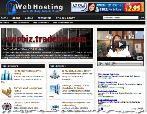 Pay for Web Hosting Turnkey Wordpress Blogs (3 Income Streams) + Review Sites