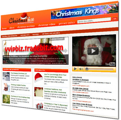 Pay for Christmas Niche Wordpress Blogs + Review Sites (3 Income Streams)