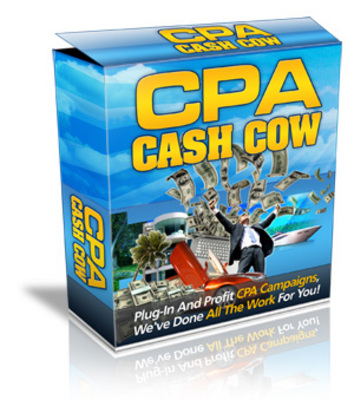 Pay for CPA Cash Cow - Instant CPA Plug And Profit Template System!