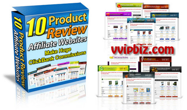 Pay for Ready-Made 10 Premium Affiliate Review Website Templates With Transferable MRR + Bonus
