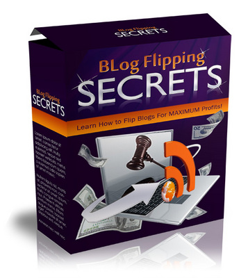 Pay for Blog Flipping Secrets: Learn How To Flip Blogs For MAXIMUM Profit! [eBook + Audio + Videos]