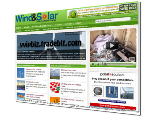 Pay for Wind Power & Solar Energy Niche Wordpress Blogs + Review Sites