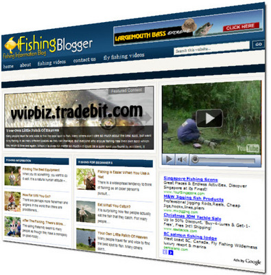 Pay for Fishing Niche Wordpress Blogs + Review Sites