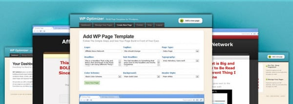 Pay for WP Optimizer Software: Build Page Templates for Your Wordpress Blog