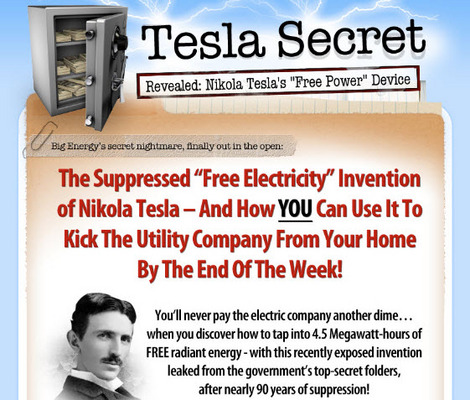 Pay for Tesla Secret Generator Clickbank Review Sites