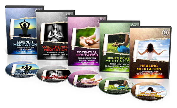 Pay for Audio Adrenaline Guided Meditation Audio Pack (MRR)