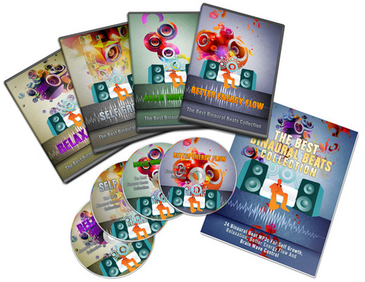 Pay for The Best Binaural Beats Collection: 24 Audio mp3 (MRR)
