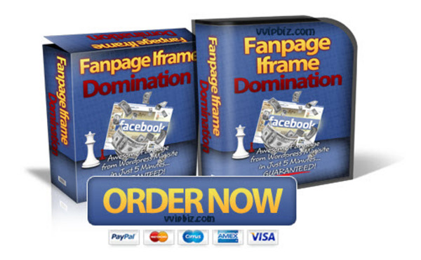 Pay for Fanpage Iframe Domination WP Theme for Facebook Fan Page (MRR)
