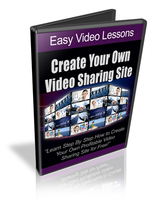 Pay for How To Create And Profit From Niche Video Sharing Sites - RR