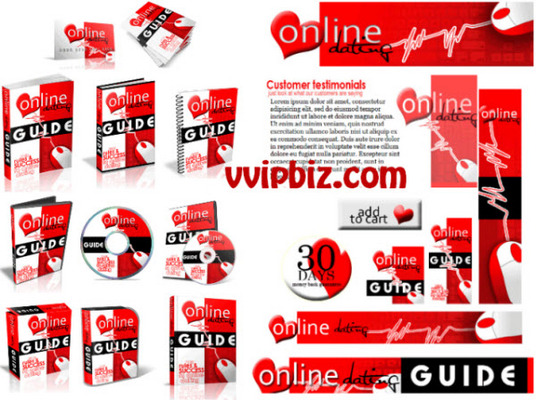 Pay for Online Dating PLR Website Templates PSD files included