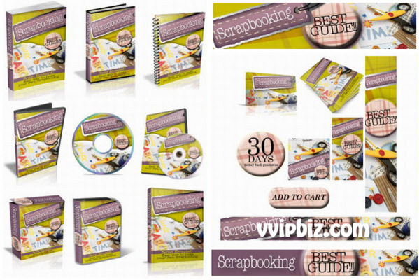 Pay for Scrapbook Plr Mini Site Templates Complete Psd Source Files