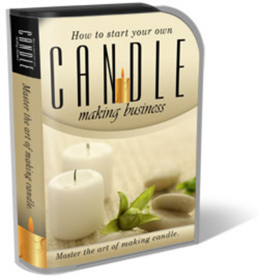 Pay for Candle Business Website Template Plr Pack