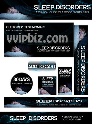 Pay for Sleep Disorders Minisite Graphics Plr Pack