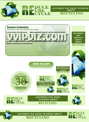 Pay for Recycling PLR Website Templates Pack