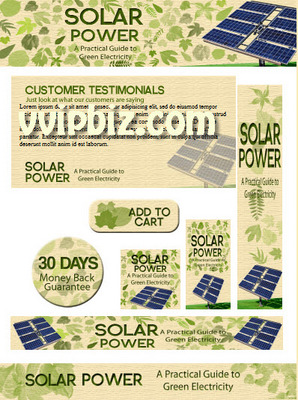 Pay for Solar Power Minisite Graphics Plr Pack