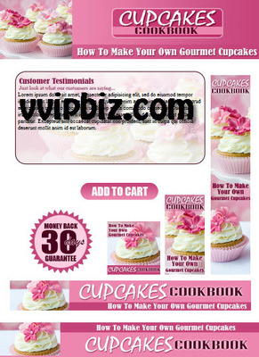 Pay for Cupcake Cookbook PLR Website Templates Pack