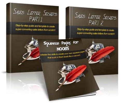 Pay for Sales Letter Secrets MRR Ebook