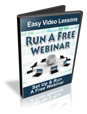 Pay for Set Up & Run A Webinar For Free Video Series