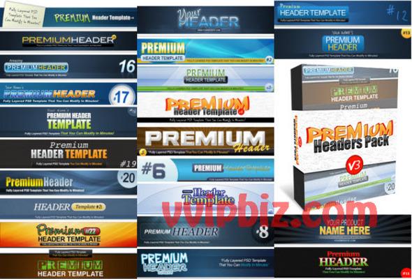 Pay For Premium Headers Pack V3