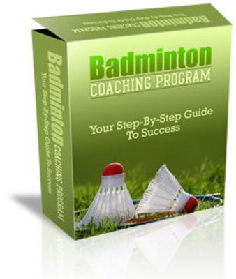 Pay for Badminton Coaching Website Templates PLR Pack