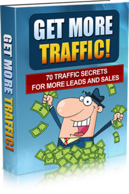Pay for Get More Traffic MRR Ebook - Giveaway Rights!