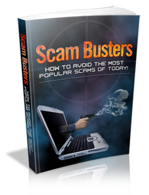 Pay for Scam Busters Unrestricted PLR Ebook