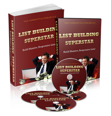 Pay for List Building Superstar Video Series with Reseller License