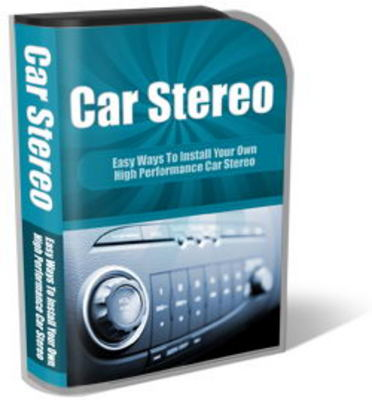 Pay for Car Stereo Website Template PLR Pack
