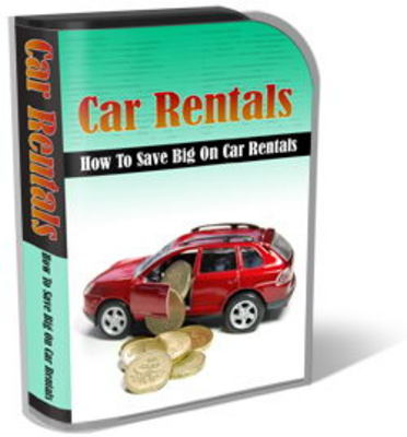 Pay for Car Rentals Website Template