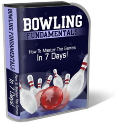 Bowling Website Template PSD PLR Pack