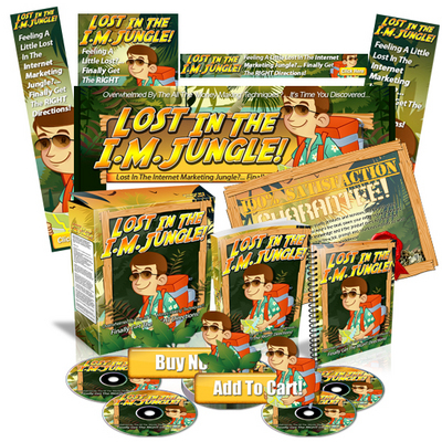 Pay for Lost In The IM Jungle Internet Marketing Website Template MRR
