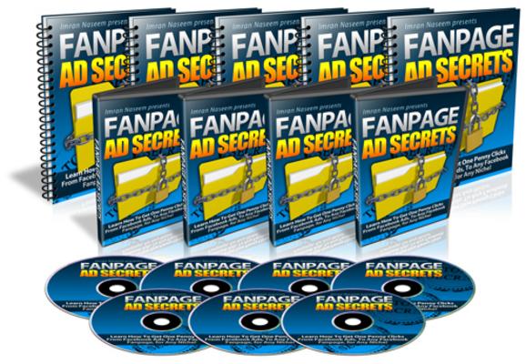 Pay for Fanpage Ad Secrets - Facebook Marketing PLR Videos Ebook