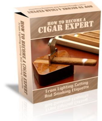Pay for Cigar Expert Website Template