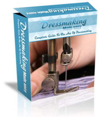 Pay for Dressmaking Website Templates PLR Pack