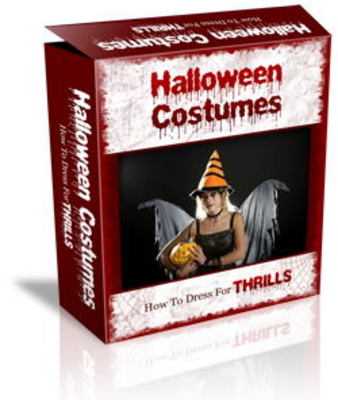 Pay for Halloween Costumes Website Templates PLR Pack