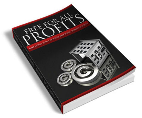 Pay for Public Domain - Free For All Profits PLR Ebook