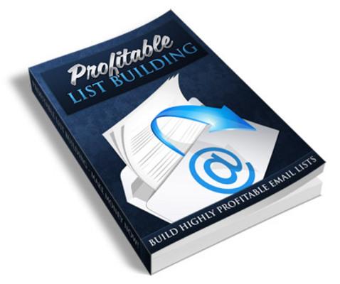 Pay for Profitable List Building PLR Ebook
