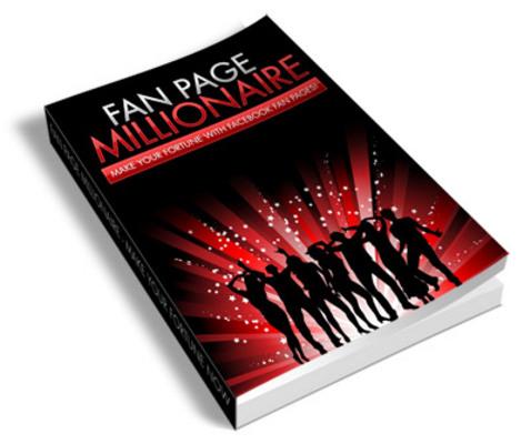 Pay for Fan Page Millionaire PLR Ebook