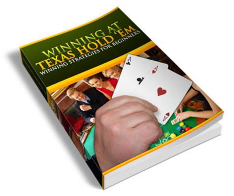 Pay for Winning at Texas Holdem Poker PLR Ebook
