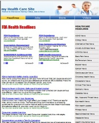 Pay for Healthcare Turnkey Website PLR - Summer Template Blowout