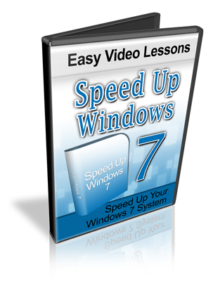 Pay for Speed Up Windows 7 System Video Tutorials