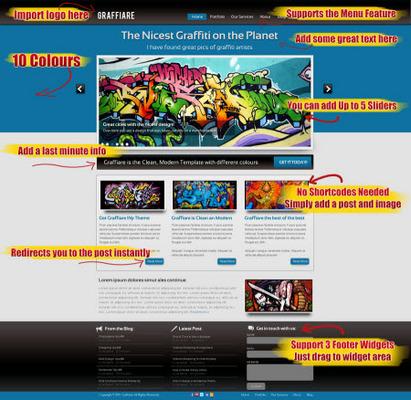 Pay for Graffiare Premium WP Theme with Developer License