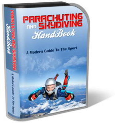 Pay for Parachuting Website Template Plr Pack - Skydiving