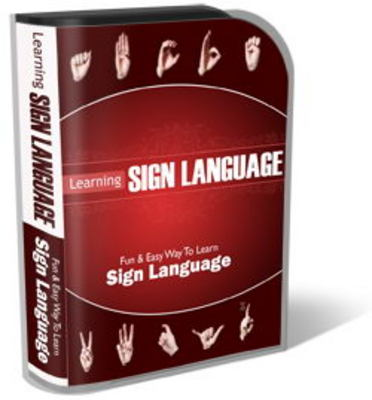Pay for Sign Language Website Template Plr Pack