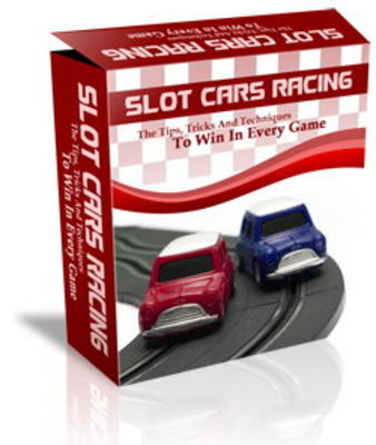 Pay for Slot Cars Racing Website Template Plr Pack