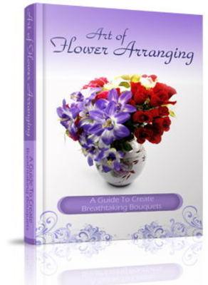 Pay for Flower Arranging Website Template Plr Pack