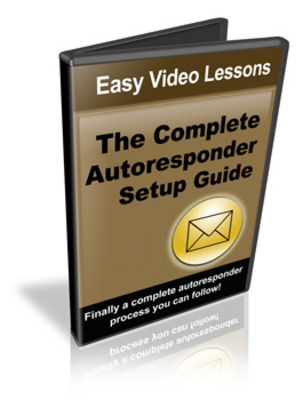 Pay for Complete Autoresponder Setup Guide Video Course - Resale Rights